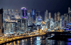 Panama bei Nacht